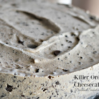 Killer Oreo Cheesecake