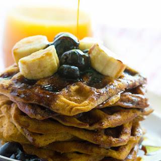 Mini sweet potato waffles (Paleo and gluten free).