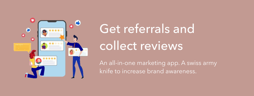 referral review banner