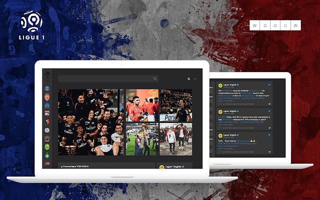 Wooow New Tab - Ligue 1
