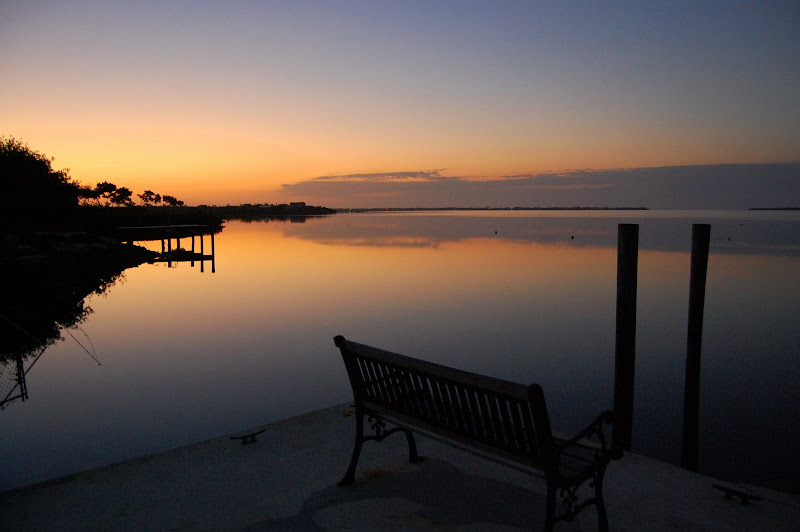 Photo: Sunrise from Dock.    