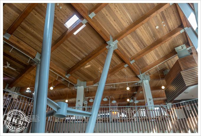 北投圖書館天花板