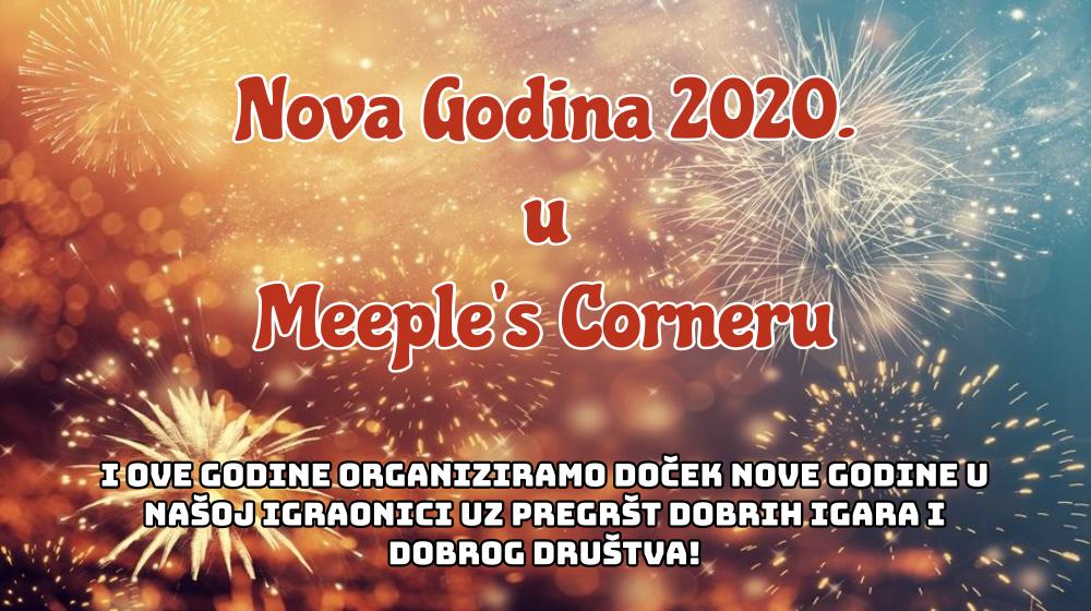 Doček Nove 2020. godine u Meeple's Corneru