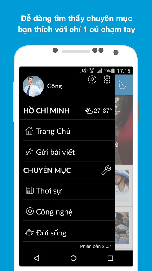 Thanh Nien Mobile- screenshot