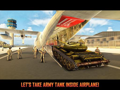 Army Tank Transport Plane Sim screenshots 7