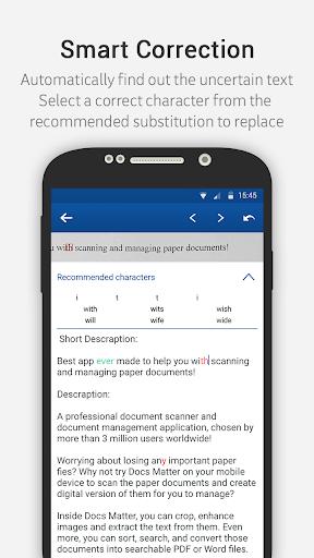 Docs Matter - Mobile OCR