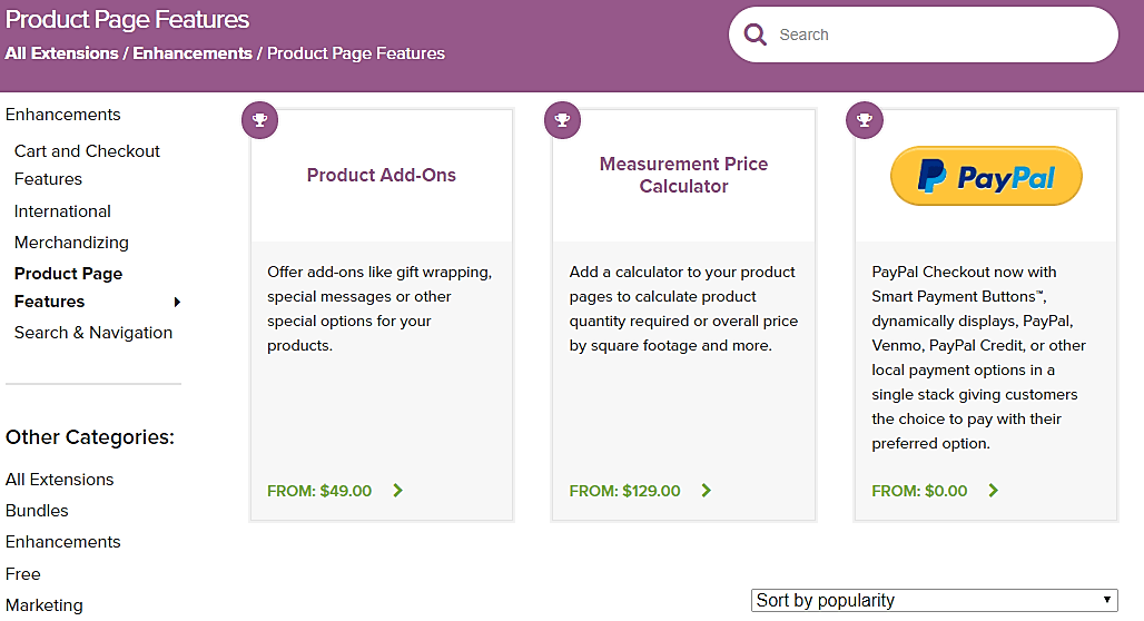 Customizability woocommerce