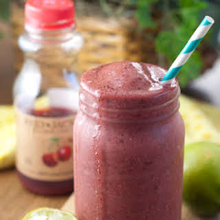 Cherry Coconut Lime Smoothie + Red Jacket Juice GIVEAWAY!.