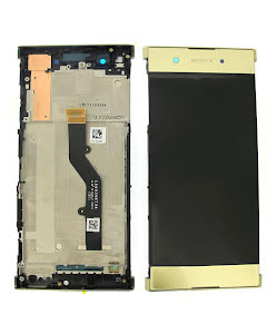 Xperia XA1 Plus Display Original Gold