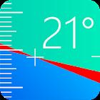 水平器、 水平、レベル、水準器, Level icon