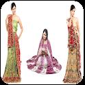woman sarees photography icon