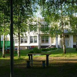 My old Kindergarten, Moscow, Russia (1) by My Photo - City,  Street & Park  Neighborhoods