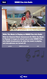 WMNR Fine Arts Radio- screenshot thumbnail