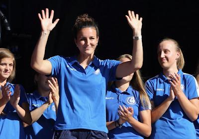 """De eerste weken van Nicole Studer in België: """"Heb de ploeg gevonden die ik zocht"""" en """"Stabiele club in mooie stad met joviale mensen"""""""