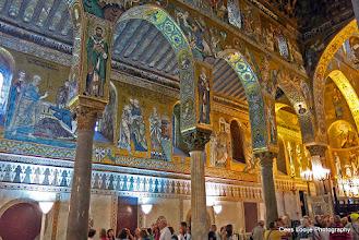 Photo: Sicilië. Palermo. Palatijnse Kapel.