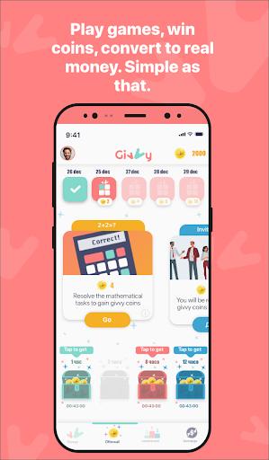 Givvy - Earn money for Free! 7.9 screenshots 3