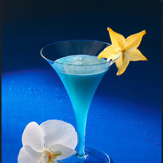 Blue Lagoon Cocktail.