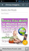 Screenshot of Imagenes de Buenos Dias