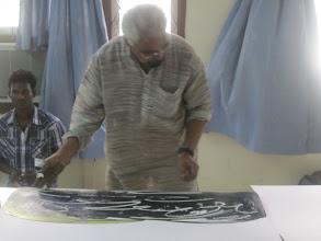 Photo: Artist Viswam and Vasanth
