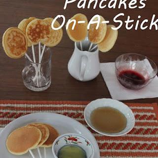 Pancakes on a Stick.