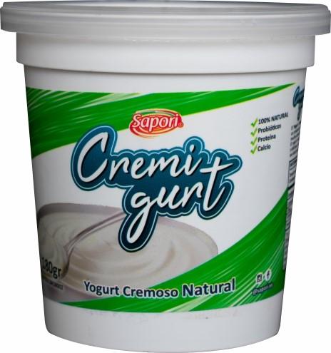 Yogurt Cremoso Cremigurt Natural 180Gr