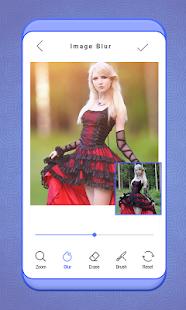 Auto Blur Background Effect-DSLR Photo Editor - náhled