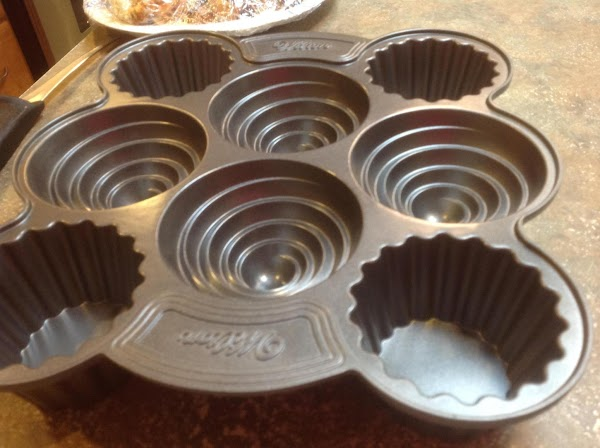 This is the up side of the muffing pan I used to make the...
