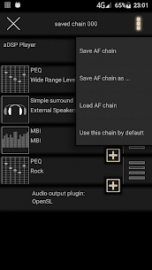 music player with parametric equalizer & surround 0.19.0.5 Mod APK (Unlimited) 2