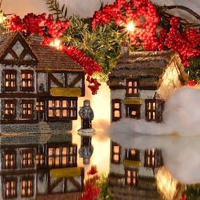 Cratchit by Ben Steiner - Public Holidays Christmas ( holiday, ben steiner, reflection, christmas, nikon )