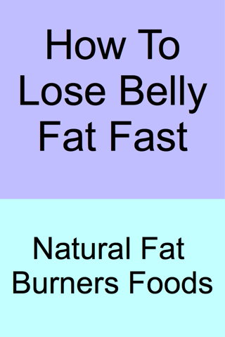 How To Lose Belly Fat - Fast