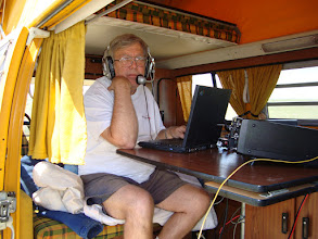 Photo: KØIP , Why am I doing this. 20m SSB FD2009, total contacts 1313