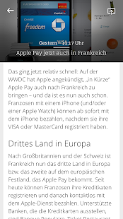 Apfelnews Magazin- screenshot thumbnail