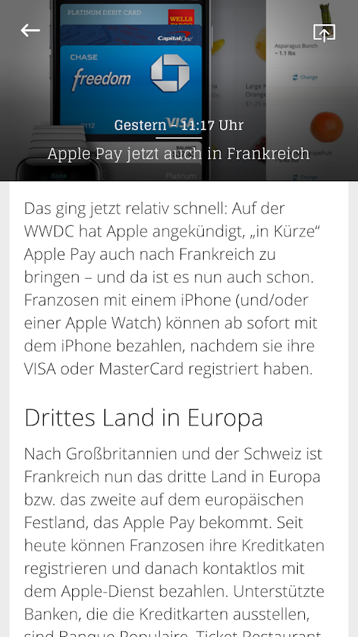 Apfelnews Magazin- screenshot