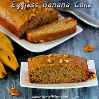 Eggless Banana Cake Recipe   Eggless Banana Bread.