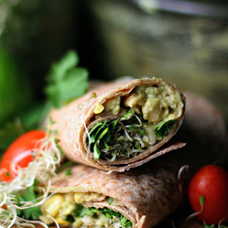 Southwestern Chickpea Avocado Smash Up