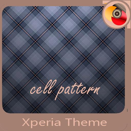 cell pattern | Xperia™ Theme