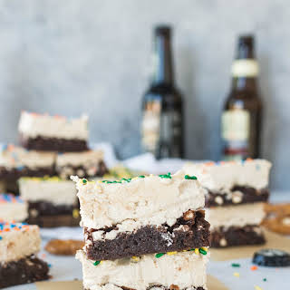 Shortcut Beer + Pretzel Brownies.