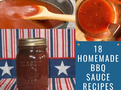 18 Homemade BBQ Sauce Recipes