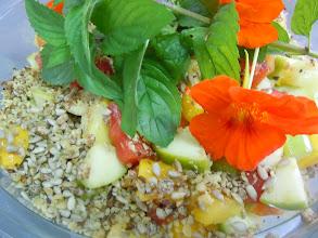 Photo: salade de fruits aux fruits secs