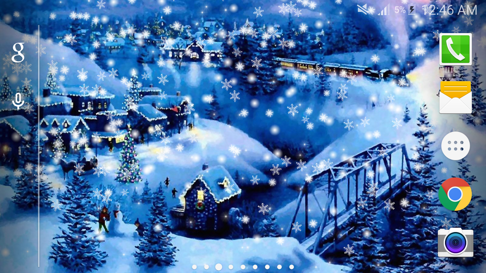 Snow night city wallpaper pro android apps on google play - Snow night city wallpaper ...