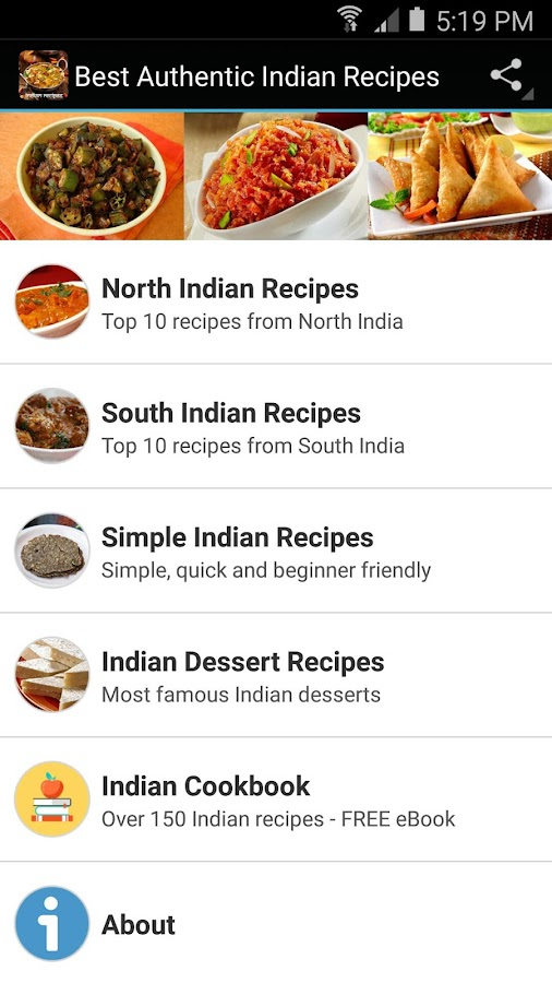 Best authentic indian recipes android apps on google play best authentic indian recipes screenshot forumfinder Choice Image