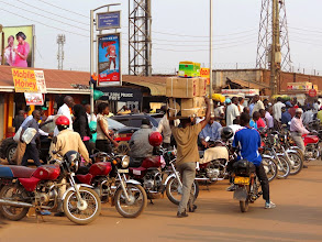 Photo: Kampala - Nakivubo Place Road