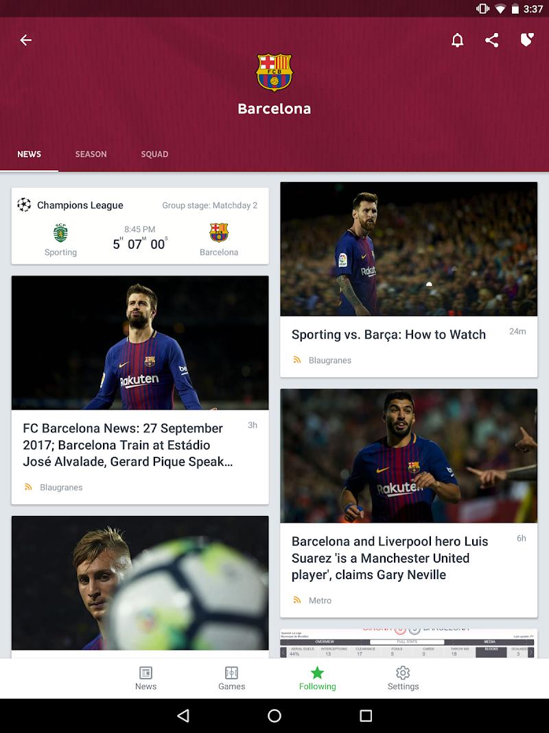 Onefootball Live Soccer Scores Screenshot 8