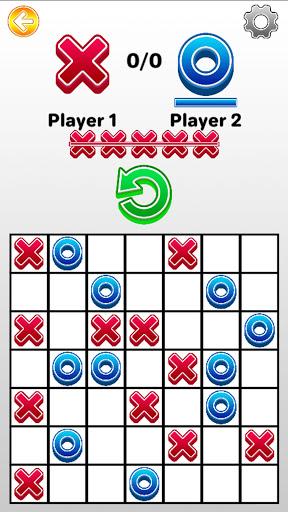 Tic Tac Toe 2 player games, tip toe 3d tic tac toe android2mod screenshots 6