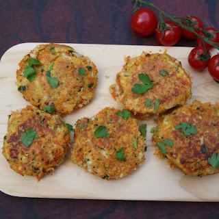 Gordon Ramsay'S Halloumi, Zucchini and Herb Cakes Recipe