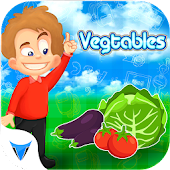 Vegetables Puzzle Slider