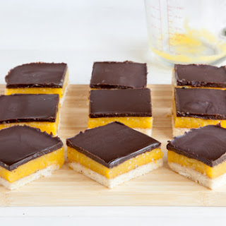 Chocolate Orange Jelly Squares.