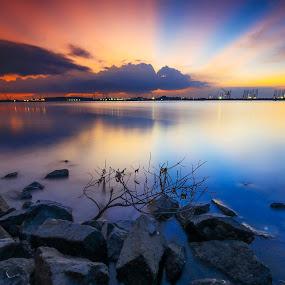 Marina Beach by Andi Setiawan - Landscapes Beaches ( indonesia, pixoto, photographer, landscape, batam )