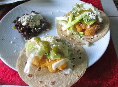 """Baja Style Fish Tacos """"I've never met a fish taco I haven't..."""