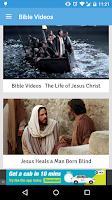 Screenshot of Bible Videos
